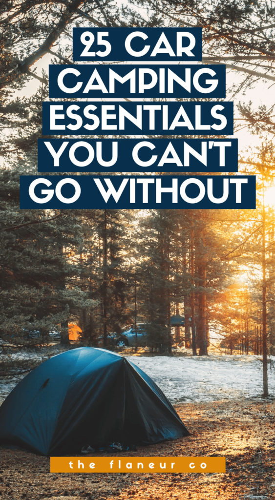 Get ready for your first (or next) car camping adventure with this complete list of car camping essentials! Experience the freedom of sleeping in your car this weekend—but don't forget to pack the essentials first!
