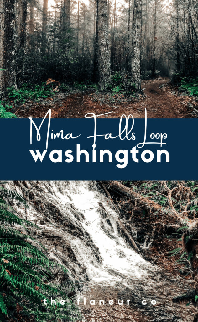 Mima Falls Loop is an easy to moderate 6.6 mile hike with a waterfall, mushrooms galore, and gradual elevation changes making for a stunning weekend adventure in the PNW all year round. Get the DL on the first trail I EVER hiked in the PNW today!